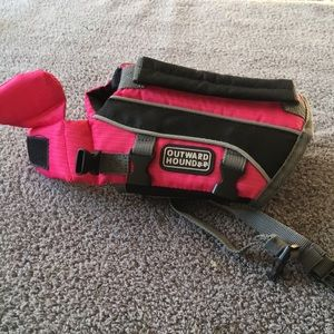 Accessories - Extra-Small Pink Dog Life Jacket - Outward Hound